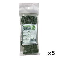 【ケース販売】農園芸ジュート麻ひも 緑 約30cm 30本入り×5個[4930502200072×5]