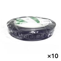 【ケース販売】たばねらテープ 山形県産 紫 20�ox100m[4987167082376×10]