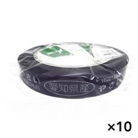 【ケース販売】たばねらテープ 愛知県産 紫 20�ox100m[4987167082543×10]