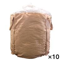 【ケース販売 】フレコンバッグ 丸型 1050KR-B(PL)[4965815584687×10枚]【別送品】