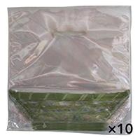 【ケース販売】スタンドパック KAGO 小 緑 100枚[4582142209429×10]