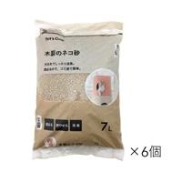 【ケース販売】猫砂 Pet'sOne 木製のネコ砂 7L×6個入(1Lあたり約56.9円)