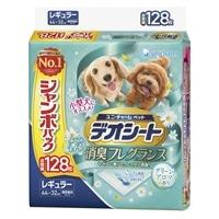 【セット商品】Pet'sOne ウェットティッシュ 3個パック + デオシートグリーンアロマレギュラー128枚(1枚あたり 約13.8円)