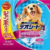 【セット商品】Pet'sOne ウェットティッシュ 3個パック + デオシートワイド 54枚(1枚あたり 約32.9円)