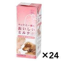 【ケース販売】おいしいミルク イチゴ風味 200ml×24本入り[4571490281010×24]