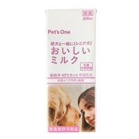 【ケース販売】愛犬と一緒に(シニア犬)おいしいミルク イソフラボン入り 200ml×24本入り