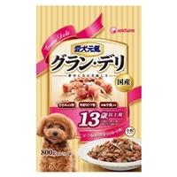 【訳あり商品】愛犬元気グラン・デリ13歳ビーフ800g(賞味期限2017年7月31日)