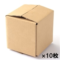 【10枚セット】60サイズ段ボール箱C-10(106X106X112 mm)×10枚[4936695365048×10]