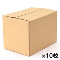 【10枚セット】80サイズ段ボール箱A4(313X223X231mm)×10枚[4936695365079×10]