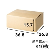 【10枚セット】80サイズ 高さ調節できる段ボール S×10枚[4549509155188×10]
