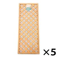 木製ラティスフェンス 60×150cm[4549509003618×5]