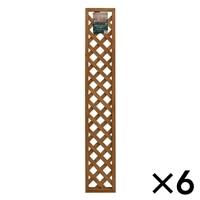 木製ラティスフェンス 30X180cm[4549509003649×6]