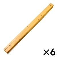 ラティスポスト 6x6x210�p[4549509102274×6]