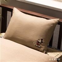 【訳あり商品】枕カバーミッキー 43×63cm(シミ有)