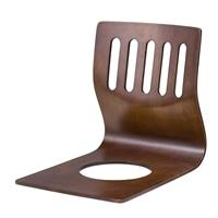 【訳あり商品】和風曲げ木座椅子 ブラウン(本体キズ・汚れ)