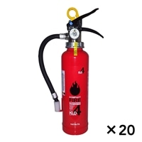 【関東限定大量注文送料無料】ハツタ 蓄圧式粉末消火器 4型 KLD−4[4994152002189×20]【別送品】