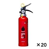 【関東限定大量注文送料無料】ハツタ 蓄圧式粉末消火器 3型 KLD−3[4994152002431×20]【別送品】