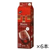 【ケース販売】メルシャン ビストロ ボックス 赤 1800ml×6本【別送品】