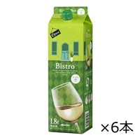 【ケース販売】メルシャン ビストロ ボックス 白 1800ml×6本【別送品】