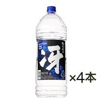 【ケース販売】サントリー 純水仕上 冴 25度 4000ml×4本【別送品】