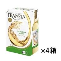 【ケース販売】フランジア バッグインボックス 白 3000ml×4本【別送品】