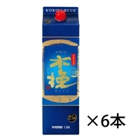【ケース販売】雲海酒造 木挽 BLUE パック 1800ml×6本【別送品】