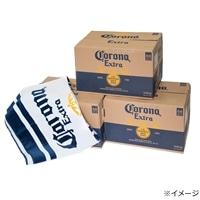 【数量限定・ネット限定】コロナ エキストラボトル 355ml瓶×72本 公式ビーチタオル付き【別送品】