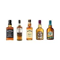 【ネット限定】ウィスキー 飲みくらべ ハーフボトル5本セット