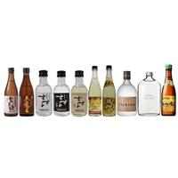 【ネット限定】麦焼酎 ミニチュアボトル 飲みくらべ 10本セット【別送品】