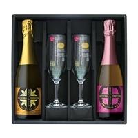 【2019年母の日カタログ】薩摩スパークリングセット グラス付