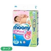 【ケース販売】ムーニーエアフィット テープ L 272枚(68枚×4個)【別送品】