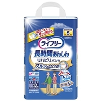 【ケース販売】ライフリー リハビリパンツLL 48枚(12枚×4個)[4903111537402×4]
