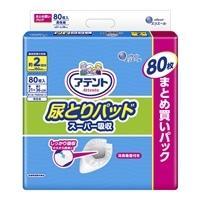 【ケース販売】アテント 尿とりパッド スーパー吸収 男性用 400枚(80枚×5個) [4902011776713×5]