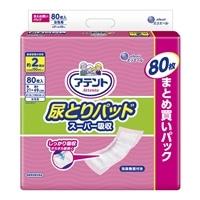 【ケース販売】アテント 尿とりパッド スーパー吸収 女性用 320枚(80枚×4個) [4902011776720×4]