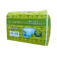 【ケース販売】CAINZ ケアフィール テープ止めタイプ L 52枚(26枚×2個)[4936695764209×2]
