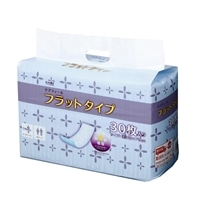 【数量限定・ケース販売】CAINZ ケアフィール フラットタイプ 120枚(30枚×4)[4549509000129×4]