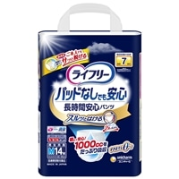 【ケース販売】ライフリー 尿とりパッドなしでも長時間安心パンツ M 56枚(14枚×4個)[4903111090242×4]