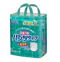 【ケース販売】サルバ 応援介護パンツ L-LL 90枚(30枚×3個)[4987603357303×3]