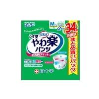 【ケース販売】サルバ やわ楽パンツ M-L 102枚(34枚×3個)[4987603358522×3]