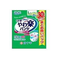 【ケース販売】サルバ やわ楽パンツ L-LL 90枚(30枚×3個)[4987603358539×3]