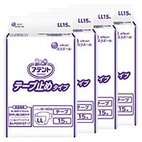 【ケース販売】大王製紙 アテント テープ止めタイプ 業務用 LL 60枚(15枚×4個)[4902011768244×4]