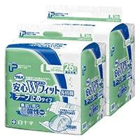 【ケース販売】白十字 PUサルバ 安心Wフィット L 52枚(26枚×2個)[4987603355972×2]