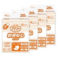 【ケース販売】大王製紙 アテント Sケア 軟便安心パッド 業務用 80枚(20枚×4個)[4902011761115×4]