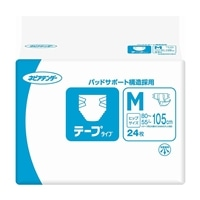 【ケース販売】ネピアテンダー テープタイプ M 72枚(24枚×3個)[4901121459554×3]