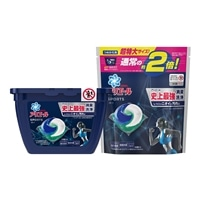 【セット商品】P&G アリエール ジェルボール3D プラチナスポーツ 本体14個+つめかえ26個