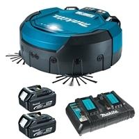 マキタ 充電式ロボットクリーナーセット(本体+充電池×2+2口充電器)