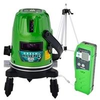 【ネット限定事前予約210512】山真 グリーンレーザー墨出し器 GA-03BB 三脚・受光器セット