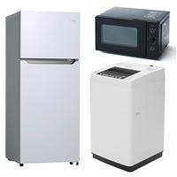 【セット商品】YZフラット電子レンジ YRL−F180(B) & Hisense 93L2ドア冷蔵庫 HR-B95A&4.5kg全自動洗濯機HW-T45C【別送品】【要注文コメント】