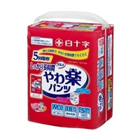 【ケース販売】白十字 サルバ やわ楽パンツ しっかり長時間 M-L 54枚(18枚×3個)[4987603354876×3]