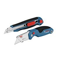 BOSCH プロフェッショナルナイフ、カッター2種セット1600A016BM